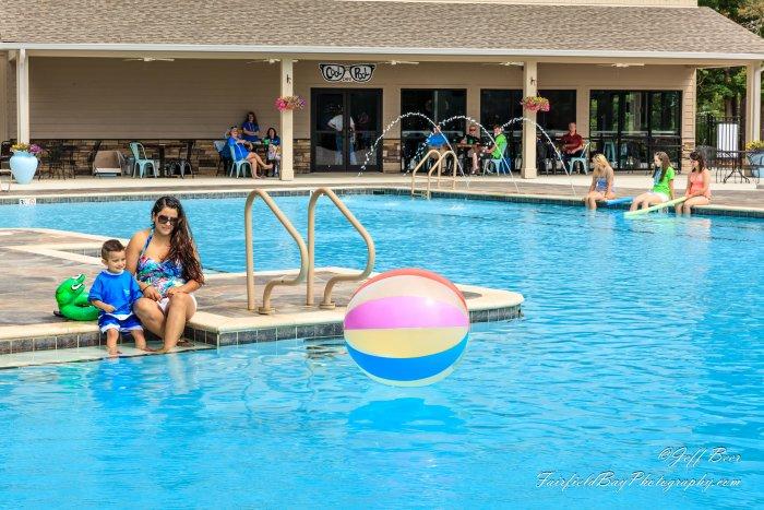 Cool Pool Cafe Fairfield Bay Arkansas